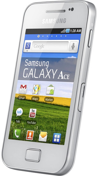 Смартфон samsung gt s5830i uwi galaxy ace pure white