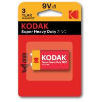 Купить Батарейка KODAK  EXTRA HEAVY DUTY 6F22 1 шт. блистер - 30953437/В