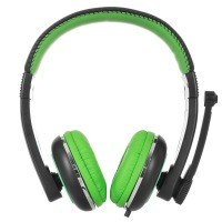 Купить Наушники ERGO VM-280 Зеленый - VM-280 Green