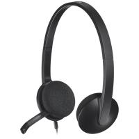 Купить Гарнитура IT LOGITECH Гарнитура Stereo Headset H340 - 981-000475