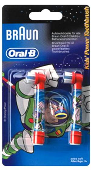 Сменные насадки для зубной щетки Braun