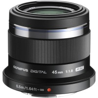 Купить Объектив OLYMPUS ET-M4518 45mm 1:1.8 Черный - V311030BE000