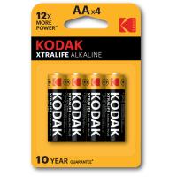 Купить Батарейка KODAK XTRALIFE LR06 1x4 шт. блистер - 30952027