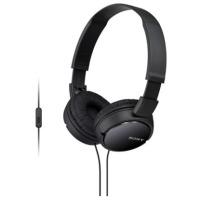 Купить Наушники SONY MDR-ZX110AP черный - MDRZX110APB.CE7