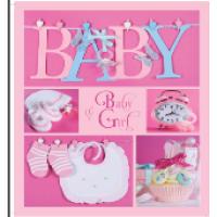 Купить Альбом EVG 20sheet Baby collage Pink w/box - 20sheet Baby collage Pink w/box