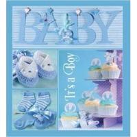 Купить Альбом EVG 10x15x56 BKM4656 Baby collage Blue - BKM4656 Baby collage Blue