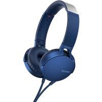 Купить Наушники SONY MDR-XB550AP Синий - MDRXB550APL.E
