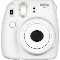 Купить Фотокамера FUJI Instax Mini 9 CAMERA SMO WHITE TH EX D Дымчатый Белый - 16550679