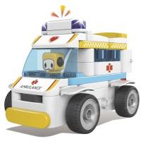 Купить Конструктор PAI BLOKS RC Ambulance с Пультом ДУ 69 pcs - 62003W