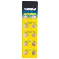 Купить Батарейка X-DIGITAL AG13 - AG13-10B