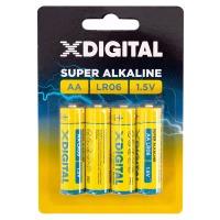 Купить Батарейка X-DIGITAL LR 06 - LR6-4B