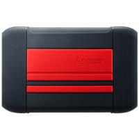 Купить Внешний жесткий диск APACER AC633 2TB USB 3.1 Power Red - AP2TBAC633R-1