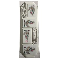 Купить Рамка EVG FRESH 8098-4 WHITE COLLAGE 3 - FRESH 8098-4 WHITE GOLLAGE 3