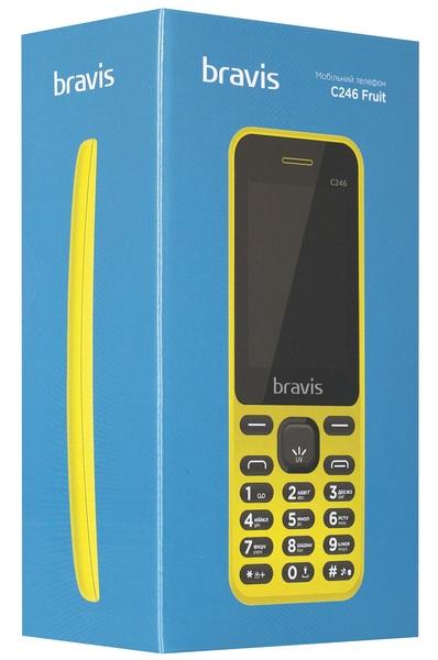 желтый телефон Бравис