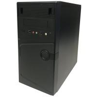 Купить Комп.корпус DELUX MK231 400W 80mm MATX Black - MK231 400W 80mm