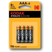 Купить Батарейка KODAK XTRALIFE LR03 1x4 шт. блистер - 30951990
