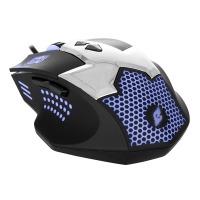 Купить Мышь ERGO NL-740 USB Черный - NL-740
