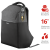 "Фото товара Рюкзак Trust Nox Anti-theft Backpack For 16"" Laptops Black"