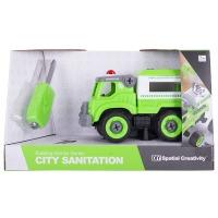 Купить Конструктор DIY Spatial Creativity  - Полицейская машина LM8043-SZ-1 - CJ-1365125