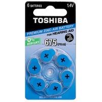 Купить Батарейка TOSHIBA PR44 (size 675) 1X6 - 00152708