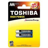 Купить Батарейка TOSHIBA LR03 HP Alkaline BP 1X2 - 00152647