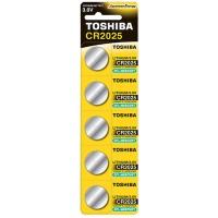 Купить Батарейка TOSHIBA CR2025 BP 1X5 - 00152702