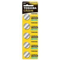 Купить Батарейка TOSHIBA CR2016 BP 1X5 - 00152701