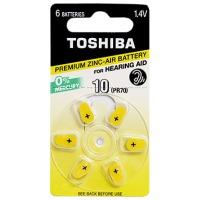 Купить Батарейка TOSHIBA PR536 (size 10) 1X6 - 00152709