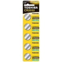 Купить Батарейка TOSHIBA CR2032 BP 1X5 - 00152703
