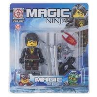 Купить Конструктор Space Baby Magic Ninja фигурка и аксессуары 6 видов - SB1040