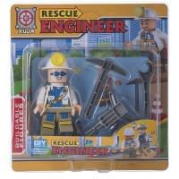 Купить Конструктор Space Baby Rescue engineer фигурка и аксессуары 6 видов - SB1050