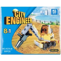 Купить Конструктор MINDBOX CITY ENGINEER в ассорт. - K37A