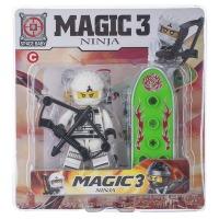 Купить Конструктор Space Baby Magic Ninja3 фигурка и аксессуары 6 видов - SB1041