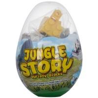 Купить Конструктор MINDBOX  JUNGLE STORY в яйце в ассорт. - K31A