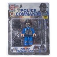Купить Конструктор Space Baby Police Commando фигурка и аксессуары 6 видов - SB1010