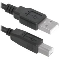 Купить Кабель DEFENDER (83765)USB04-17 USB2.0 AM-BM, 5м, пакет - 83765