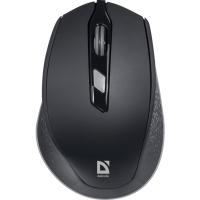 Купить Мышь DEFENDER (52785)Genesis MM-785 черный,6 кнопок, 1200-2400 - 52785