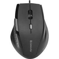 Купить Мышь DEFENDER Accura MM-362 черный,6 кнопок, 800-1600 dpi - 52362