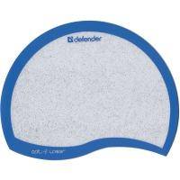 Купить Коврик для мышки DEFENDER (50513)Ergo opti-laser Blue пластиковый, синий - 50513