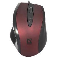 Купить Мышь DEFENDER (52832)Opera 880 R (Красный), USB 5кн - 52832