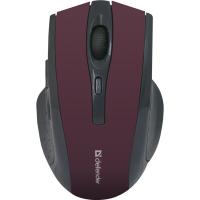 Купить Мышь DEFENDER (52668)Accura MM-665 Wireless красный - 52668