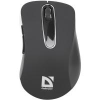 Купить Мышь DEFENDER (52075)Datum MM-075 Wireless Черная - 52075