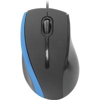 Купить Мышь DEFENDER (52344)#1 MM-340 черный+синий - 52344