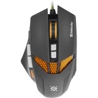 Купить Мышь DEFENDER (52780)Warhead GM-1780 оптика,8 кнопок,1000-2500dpi - 52780