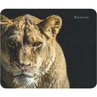 Купить Коврик для мышки DEFENDER (50803)Wild Animals 220x180x2mm 8 видов - 50803