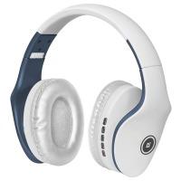 Купить Наушники DEFENDER (63526)FreeMotion B525 белый + синий, Bluetooth - 63526