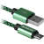 Фото товара Кабель Defender USB08-03T USB(AM)-MicroBM 1.0m, Green (87804)