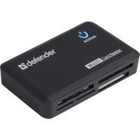 Купить Комп.аксесcуары DEFENDER (83501)Card reader OPTIMUS USB 2.0 черный - 83501