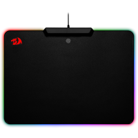 Купить Коврик для мышки REDRAGON (75176) Epeius RGB 350х250х3,6 мм ABS+металл+PP - 75176