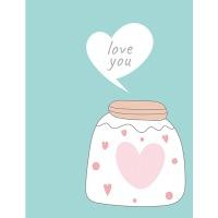 Купить Альбом UFO 10x15x200 PP-46200 Love you - PP-46200 Love you